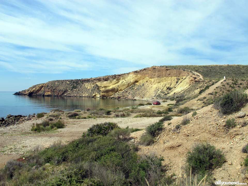 Playa Amarilla / de la Puñeta. Playas de Mazarrón