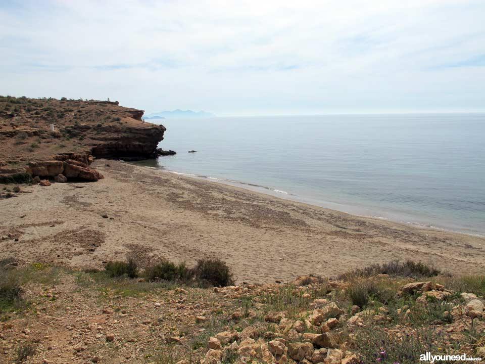Playa Barranco Ancho. Playas de Mazarrón