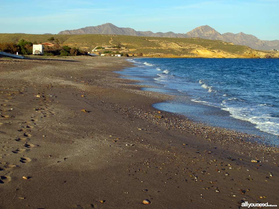 Playa Parazuelos en Mazarrón
