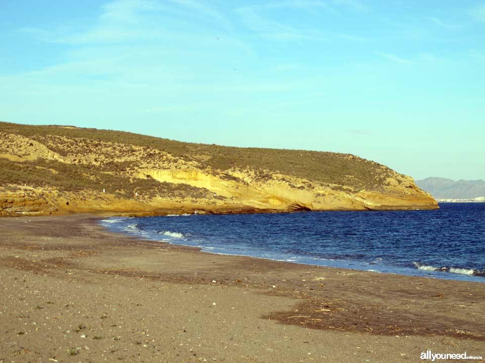 Parazuelos Beach in Mazarrón