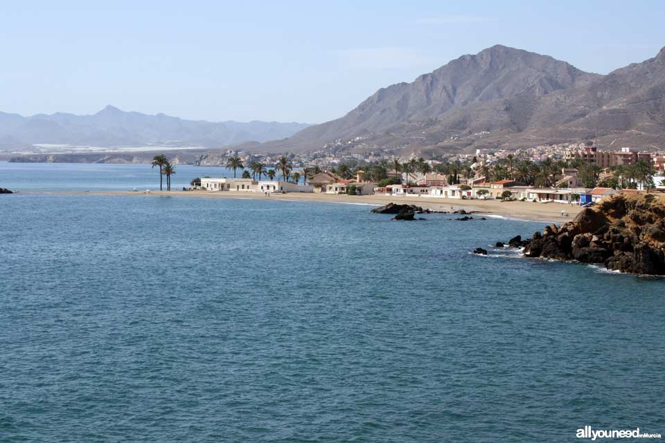 Playa de Nares. Playas de Mazarrón