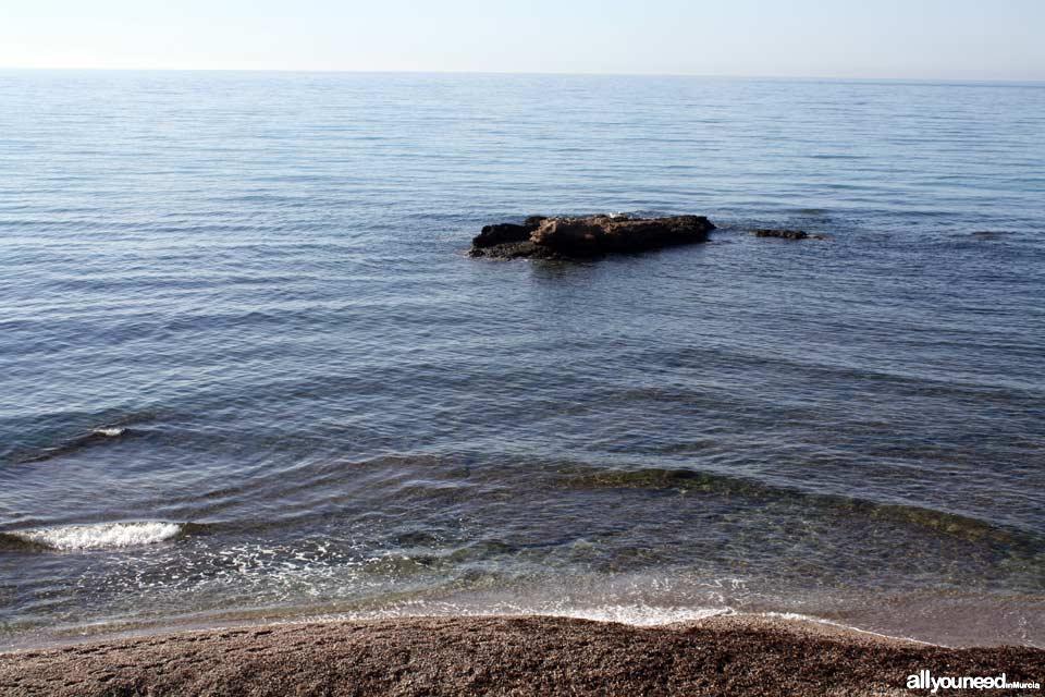 Playa de la Raja. Playas de Mazarrón