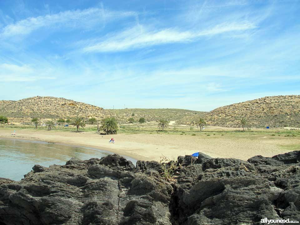 Paseo entre el Rincón y Percheles. Percheles. Mazarrón