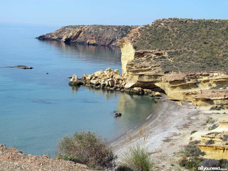 Cueva Lobos. Playas de Mazarrón