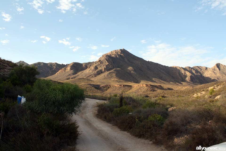 Camino por las Moreras. Mazarrón