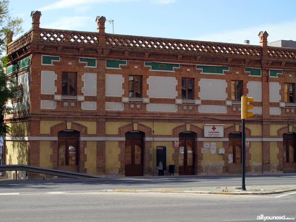Antigua estación de tren. Cruz Roja de Molina de Segura