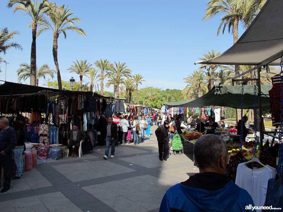 Mercado semanal de Molina de Segura