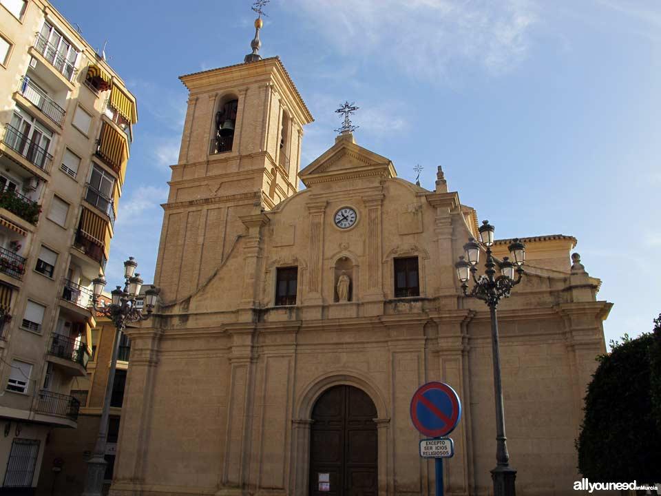 Iglesia Nta. Señora de la Asunción en Molina de Segura