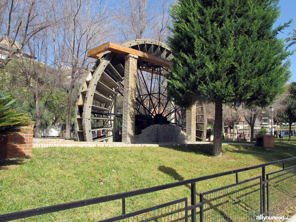 Compañía Waterwheel in Molina de Segura. Spain