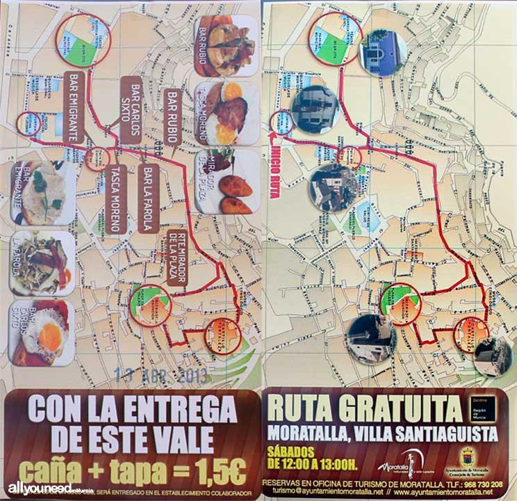 Ruta de las Tapas Moratalla