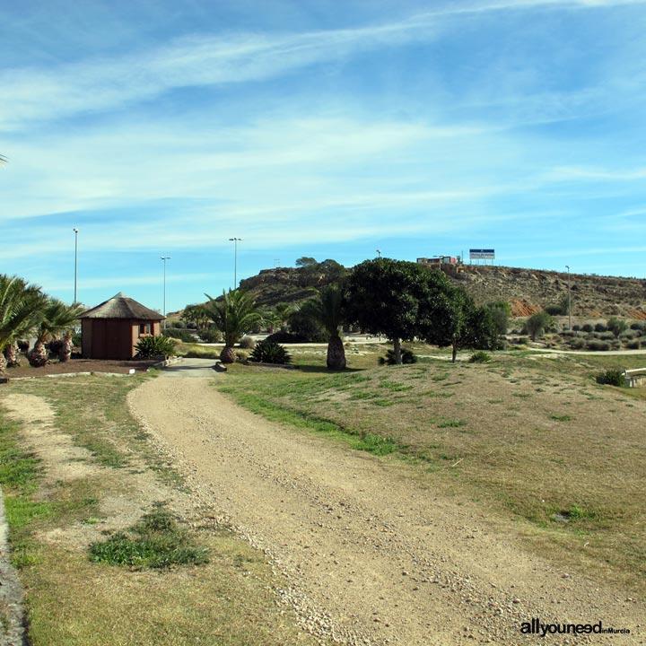 Mosa Trajectum. Campo de golf en Murcia