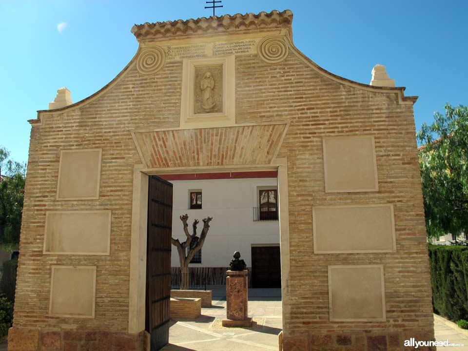 Archivo Municipal. Portada del antiguo Hospital de la Purísima Concepción