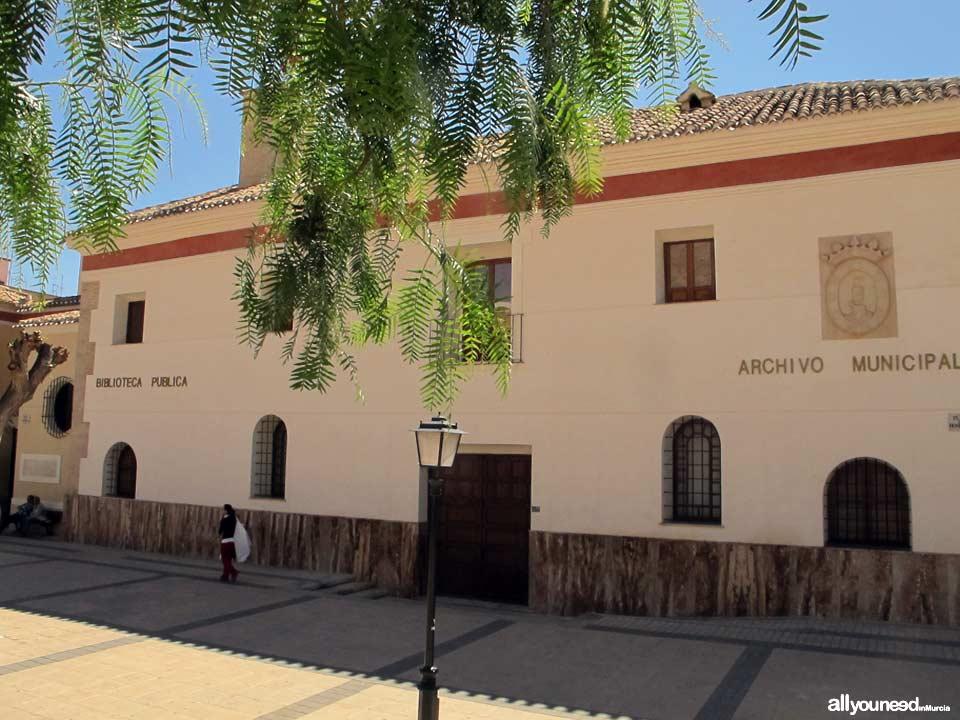 Archivo Municipal. Antiguo Hospital de la Purísima Concepción