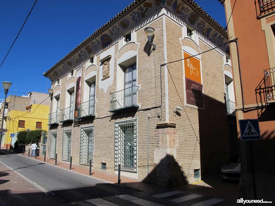Palacio del Marqués de Menahermosa. Museo del Cigarralejo de Mula