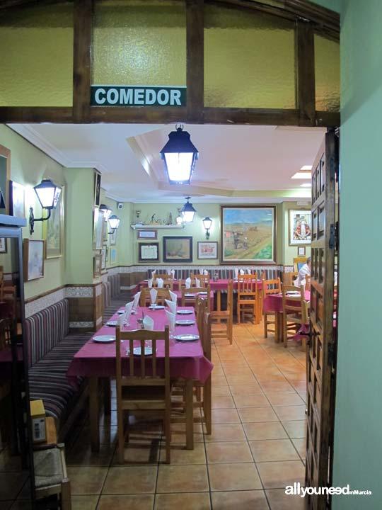 Restaurante San Isidro La Panocha en Murcia