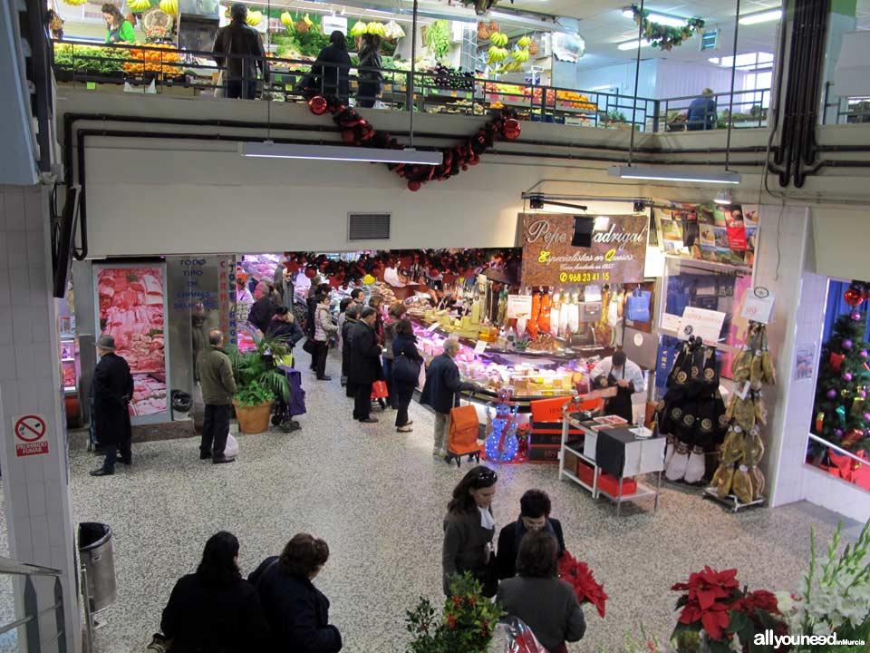 Mercado de Saavedra Fajardo en Murcia