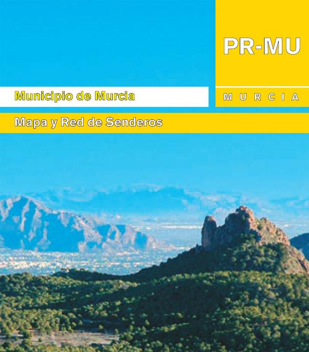 Mapa Red de Senderos del Municipio de Murcia