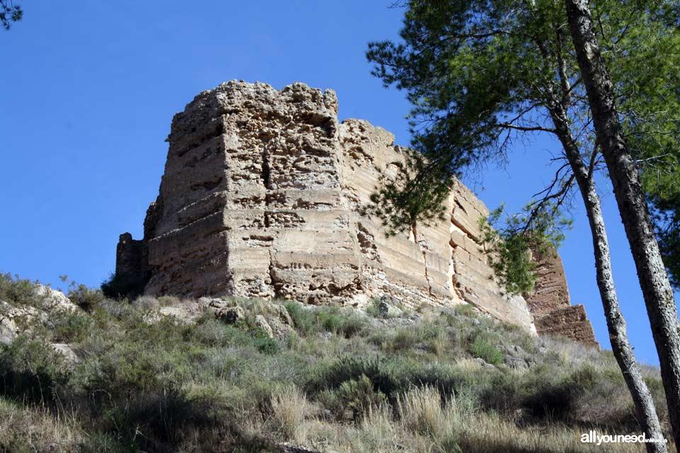 Castillo de La Luz. Carrascoy y El Valle. Castillos de Murcia
