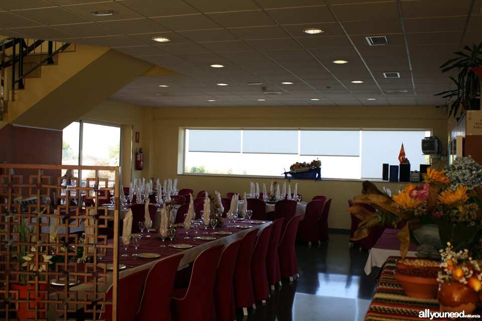 Centro de Visitantes de La Luz en El Valle. Murcia