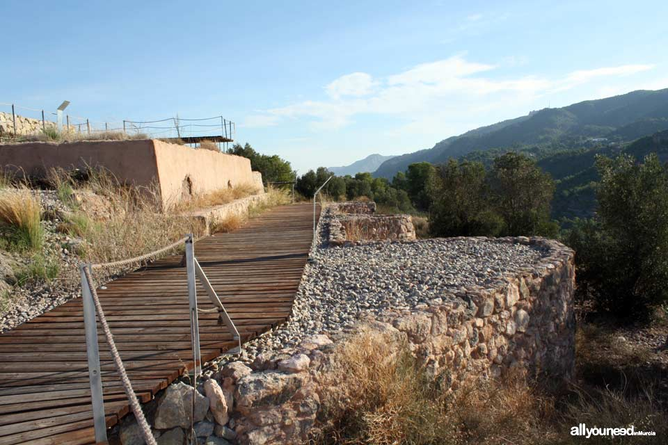 Santuario Íbero de La Luz en el Valle. Murcia
