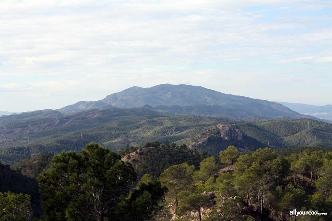 Cresta del Gallo-Pico del Relojero route. Carrascoy