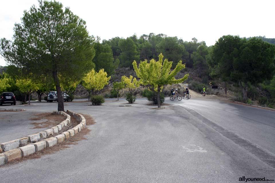 Majal Blanco Tourist Information Point. El Valle y Carrascoy Regional Park