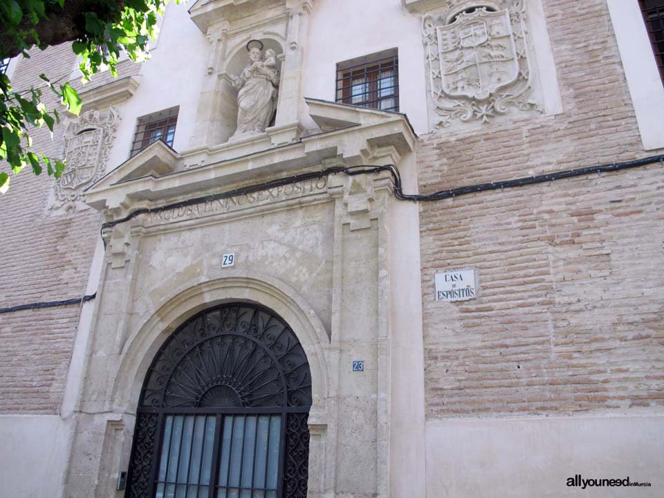 Casa de expositos for Casas de citas en murcia