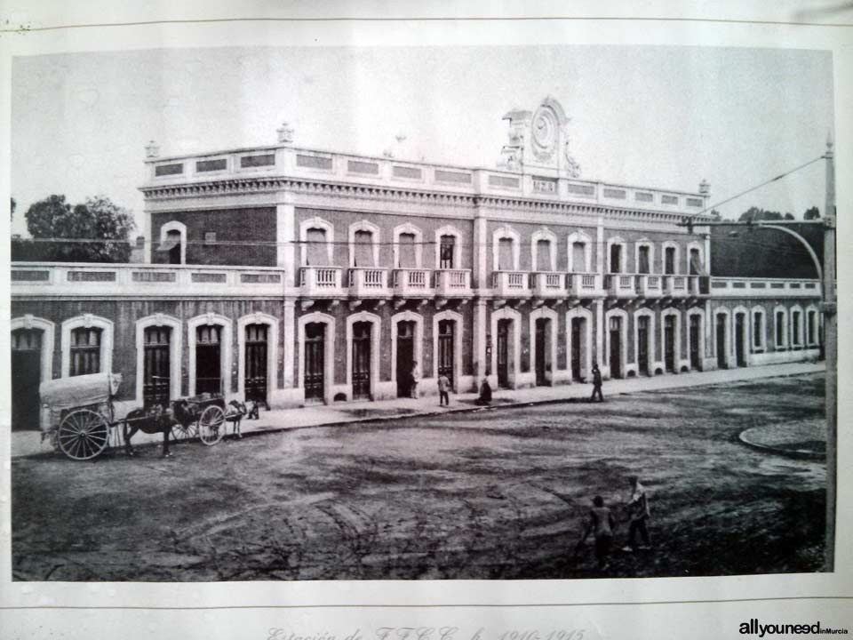 Murcia Train Station - El Carmen 1915