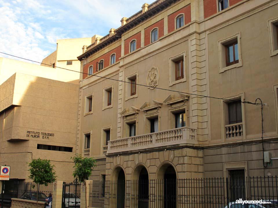 Campus Universitario de la Merced. Universidad de Murcia