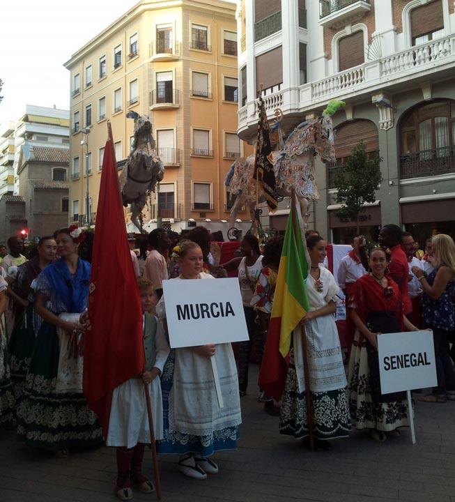 Festival Internacional del Folklore en Murcia