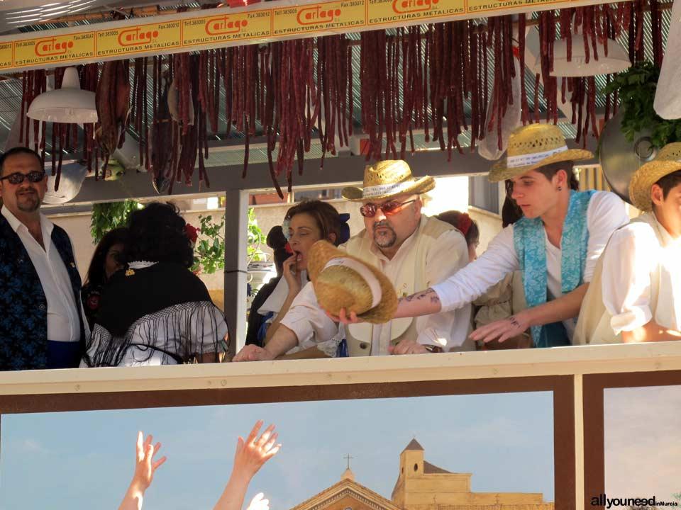 Bando de la Huerta. Desfile