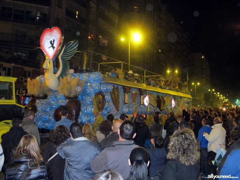 Entierro de la Sardina. Desfile