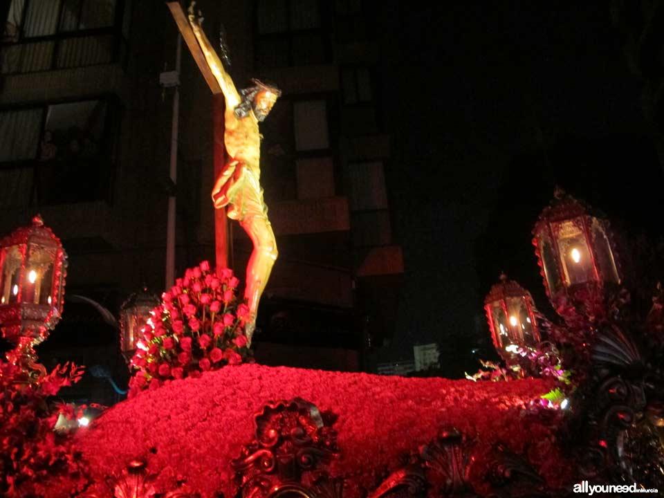 Jueves Santo. Procesión del Silencio. Semana Santa en Murcia