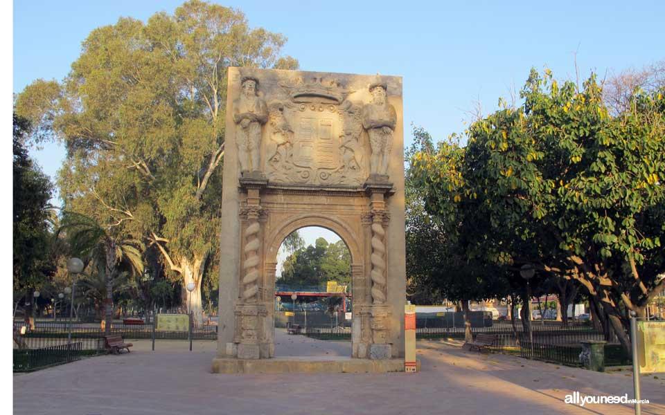 Jardín del Malecón de Murcia