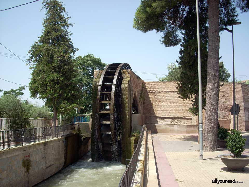 Ñora Waterwheel in Murcia. Spain
