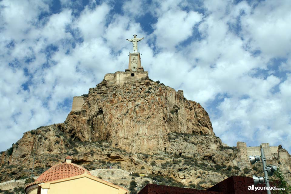 Castillo de Monteagudo. Castillos de Murciaña