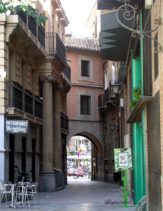 Arco de Santo Domingo in Murcia