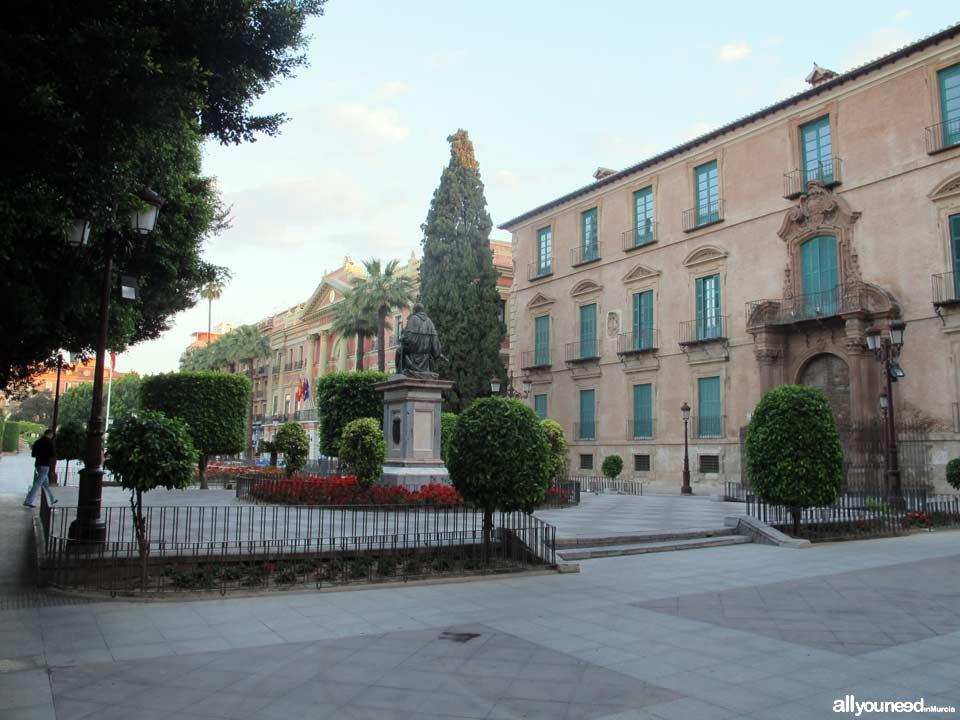 Glorieta de España en Murcia
