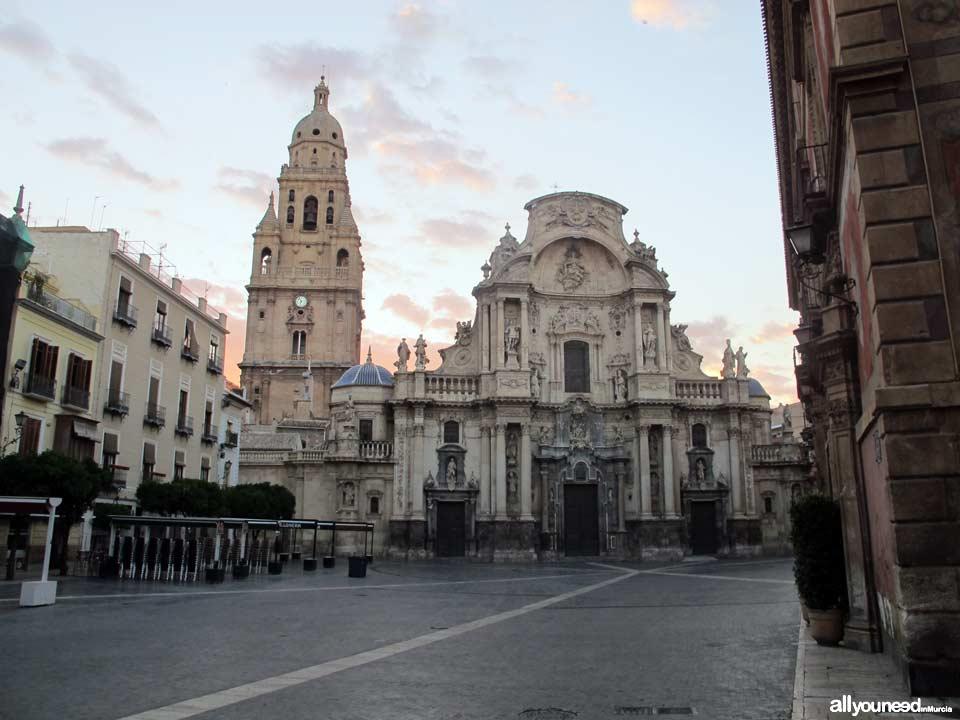 Plaza Cardenal Belluga