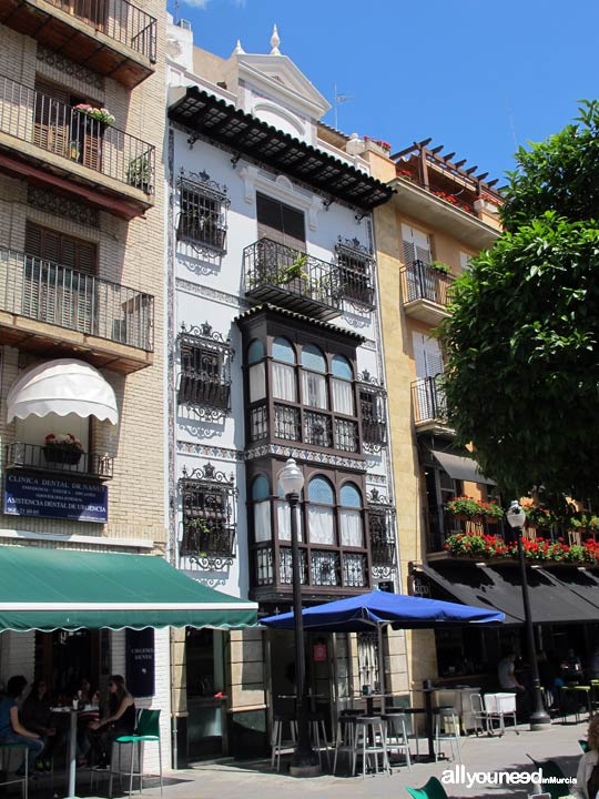 Plaza de las FloresPlaza de las Flores en Murcia