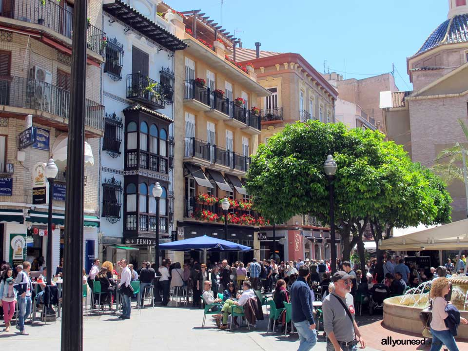 Plaza de las Flores in Murcia