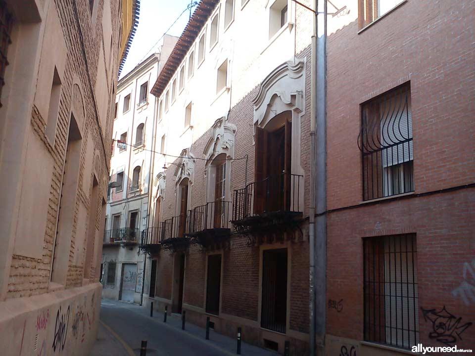Streets in Murcia. Calle San Nicolás