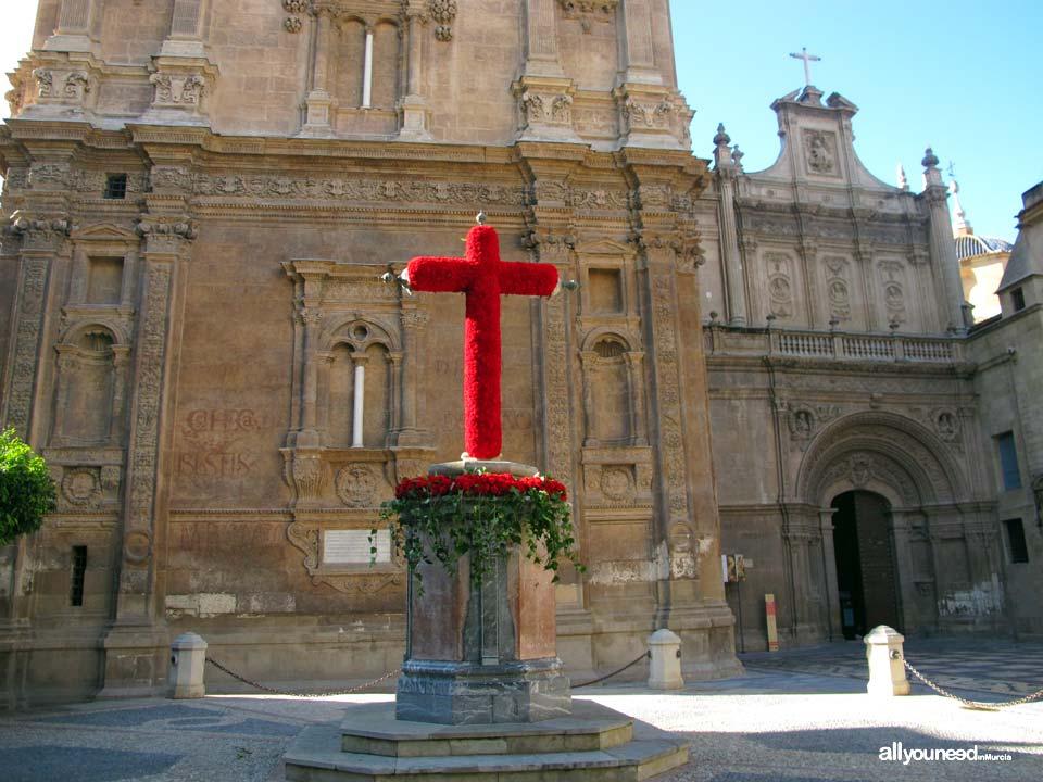 Calles de Murcia. Plaza de la Cruz