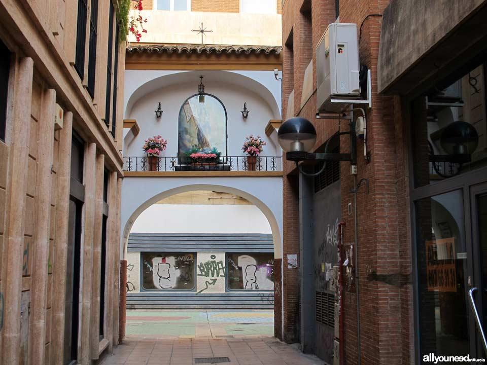 Calles de Murcia. Calle Aurora