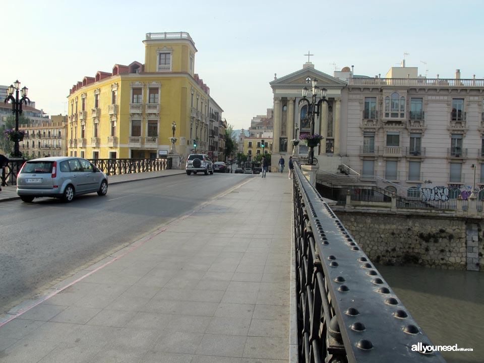 Calles de Murcia. Avda. de Canalejas