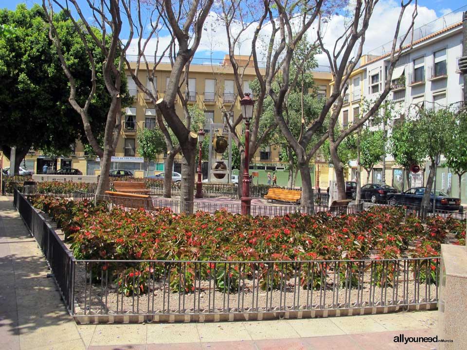 Calles de Murcia. Plaza Camachos