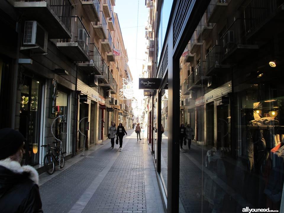 Calles de Murcia. Calle Jabonerías