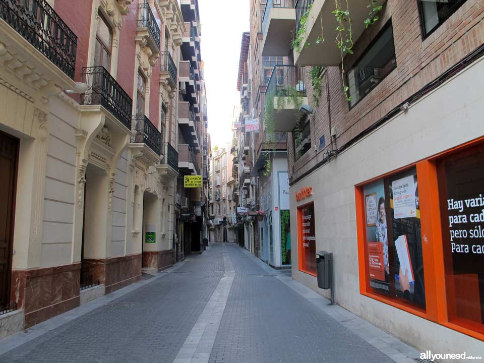 streets in murcia  things to do in murcia