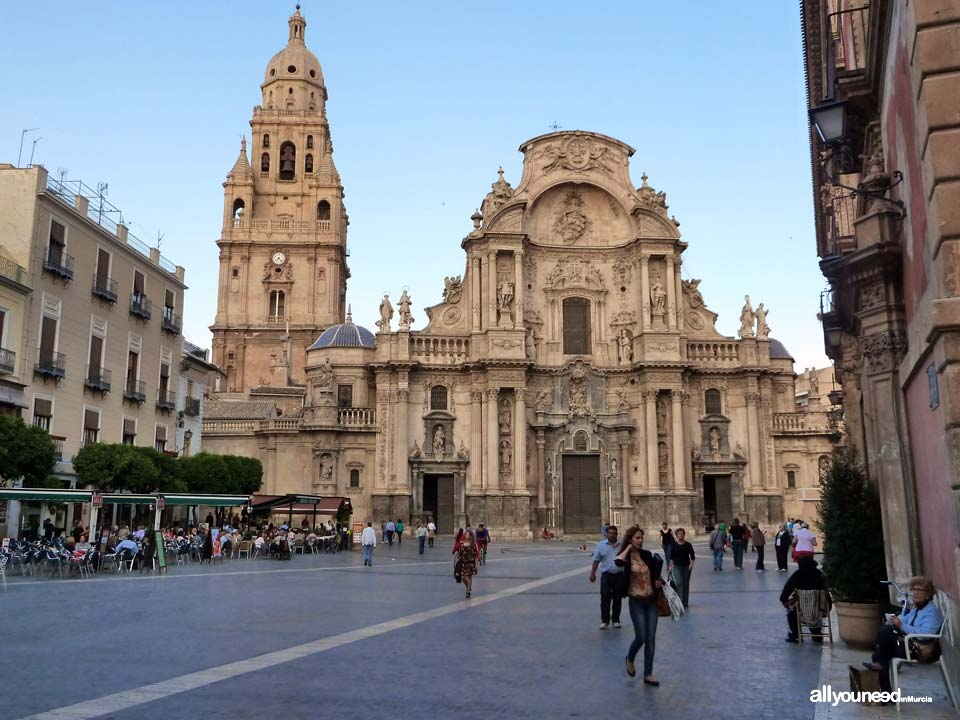 Cathedral of Santa María. Cathedral of Murcia