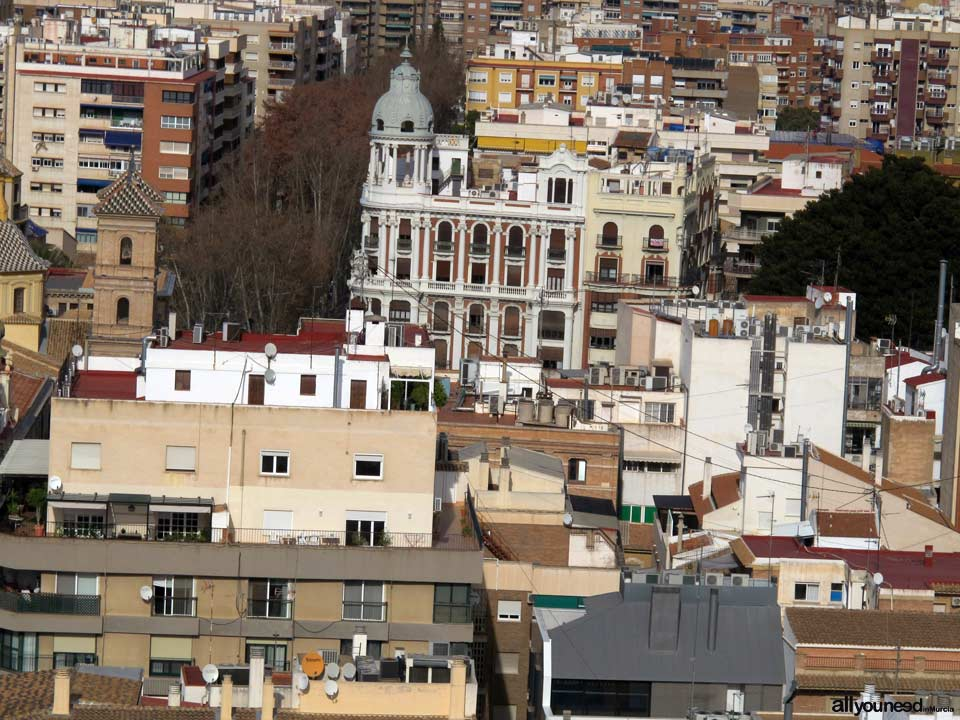 Views from the Murcia Cathedral Tower